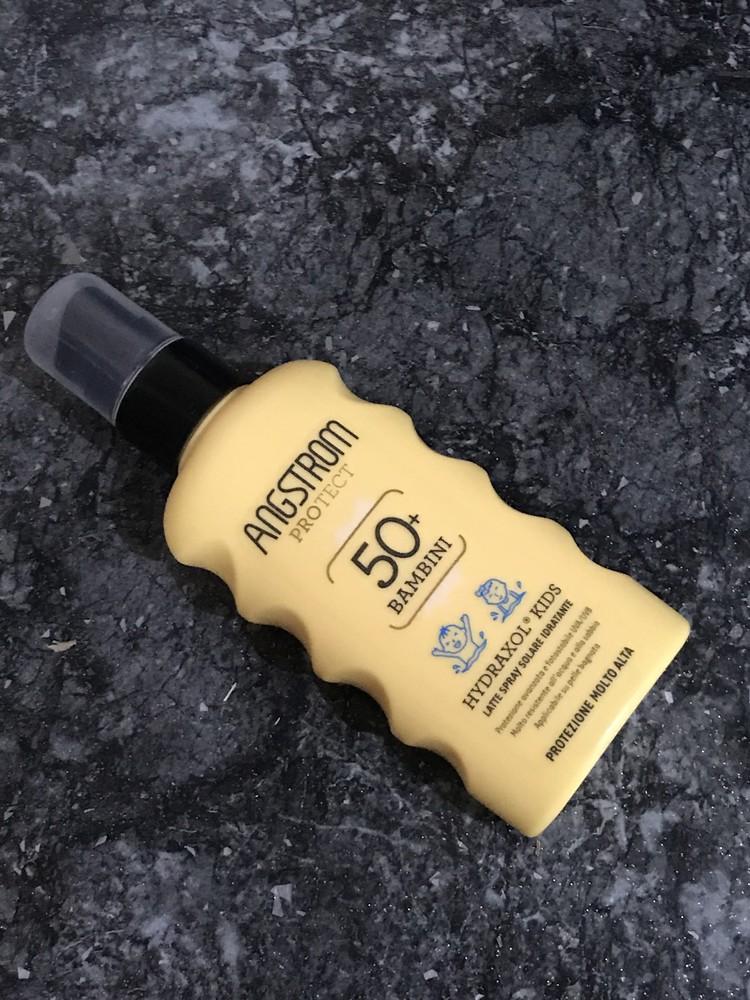 Защитный спрей молочко spf50 детский (италия) фото №1
