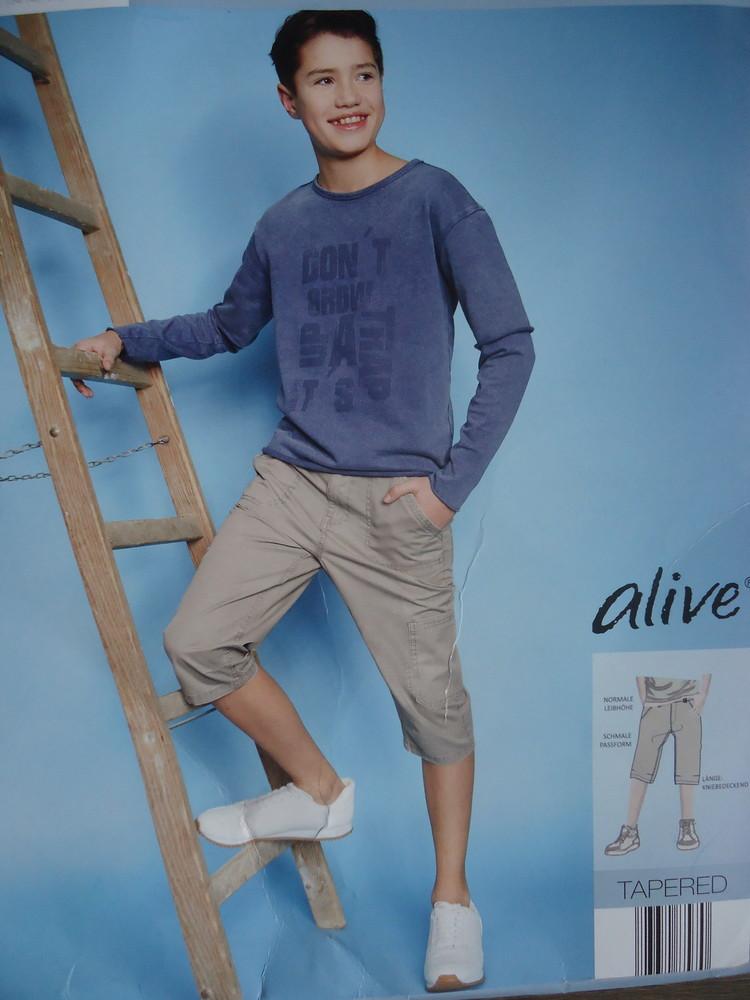 122-128, 134-140, 146-152, 158-164 см шорты бермуды для мальчика alive германия фото №1