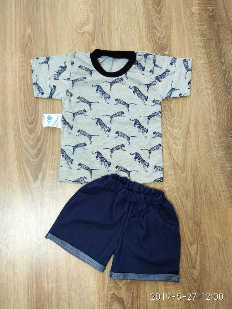 Новинка! летний костюм футболка и шорты для мальчиков 98-116 размер фото №1