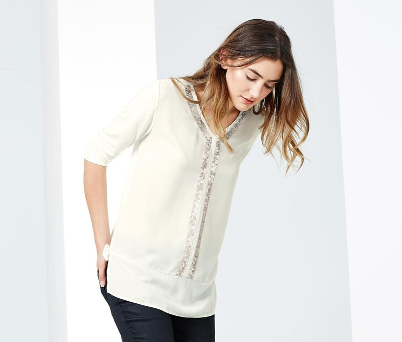 Нарядная красивая блуза туника тсм чибо. s l фото №1