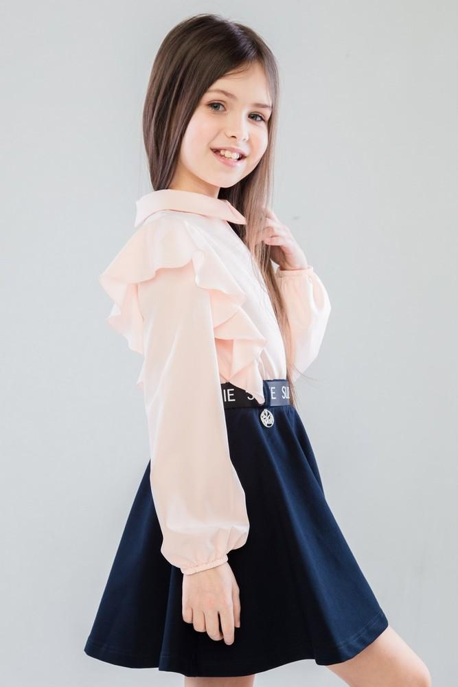 Красивые школьные блузки и юбки от suzie фото №1