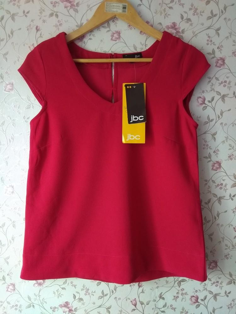 Яркая блуза цвета фуксия малиновая фото №1