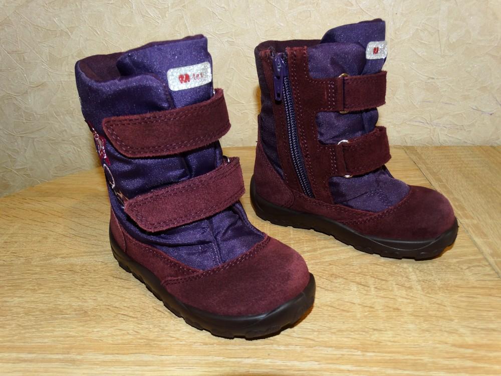 Р.22 ботинки elefanten-tex с мембраной ,14,7 см. по стельке, в идеале фото №1