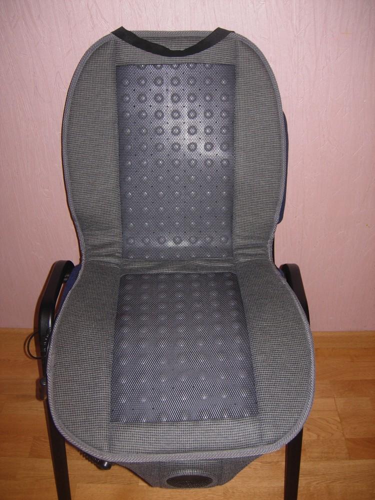 Массажер с обдувом - накладка на сиденье для авто фото №1