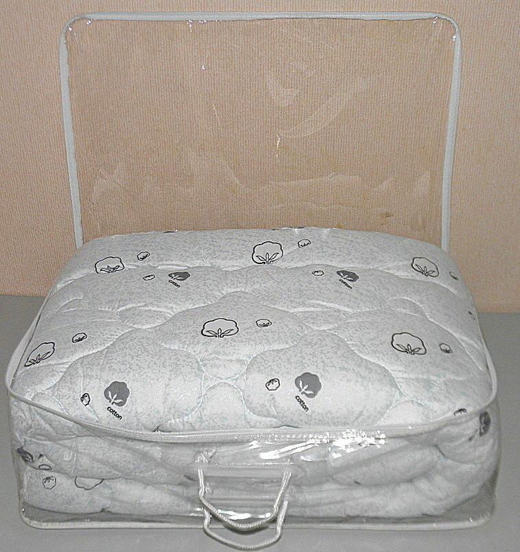 Одеяло евро размер в подарочном чемодане (ткань микрофибра наполнитель хлопок ) (x-473) фото №1