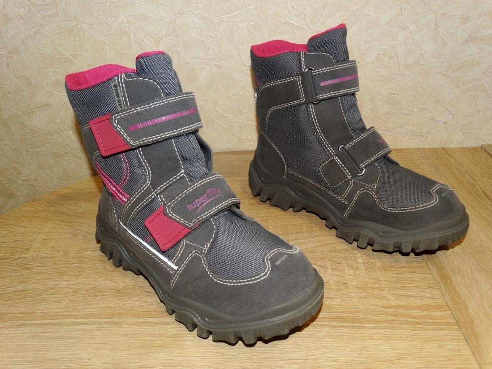 Р.33 ботинки superfit с мембранной gore-tex 21,5 см . по стельке. фото №1