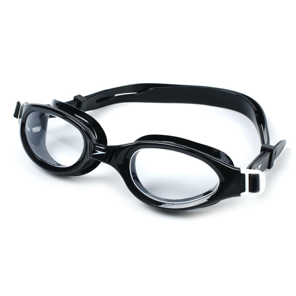 Очки для плавания speedo futura plus 098913: поликарбонат, силикон (черный) фото №1