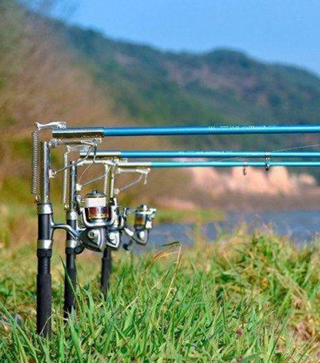 Удочка самоподсекающая 2.4m с металлическим механизмом фото №1