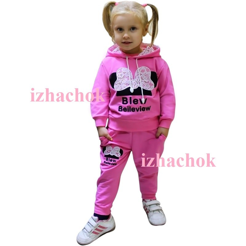 Спортивный костюм для девочки фото №1