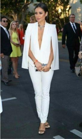Очень стильный белый пиджак школа офис фото №1