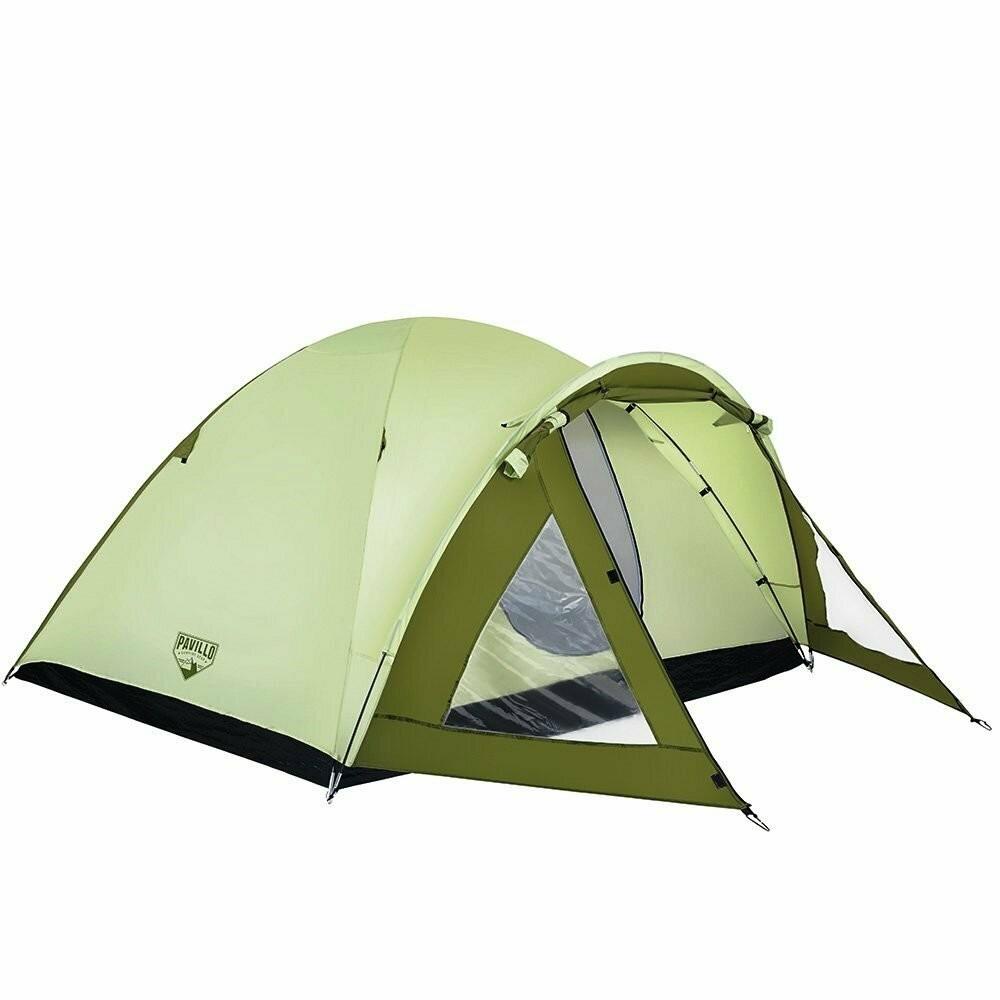 Палатка туристическая четырехместная bestway 68014 фото №1