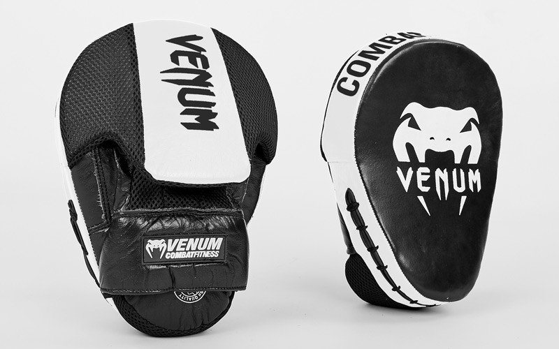 Лапа изогнутая боксерская vemun cellular 0439: 2 лапы в комплекте, размер 24.5x18.5x4см фото №1