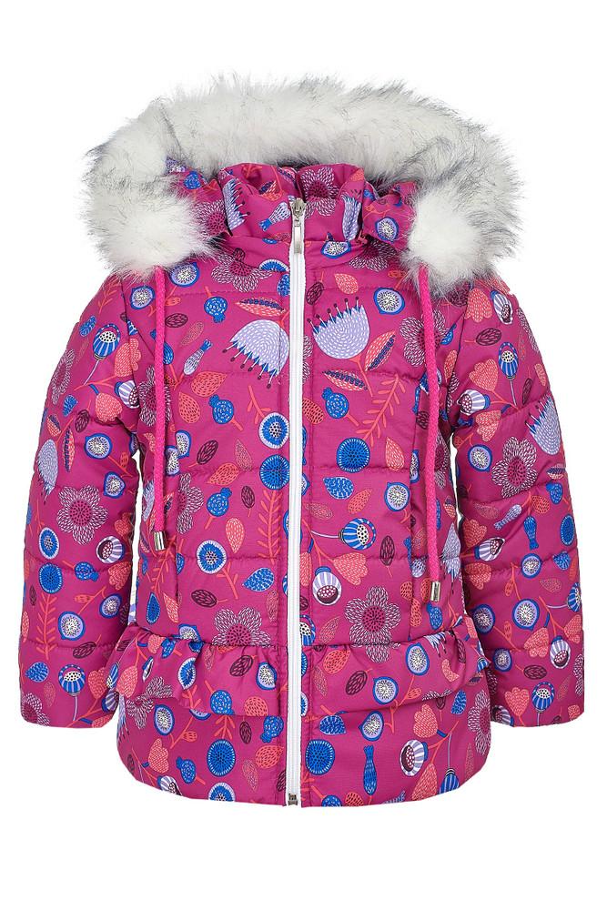 Зимняя куртка для девочки 3-6 лет, 452 фото №1