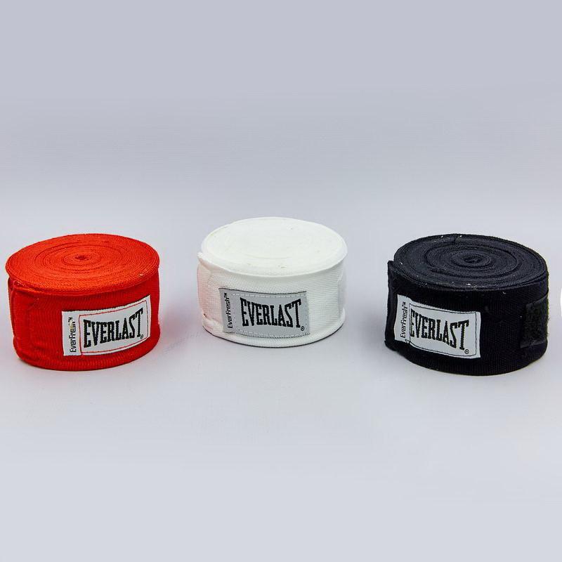 Бинты боксерские everlast 4456: длина 4,5м (3 цвета) фото №1