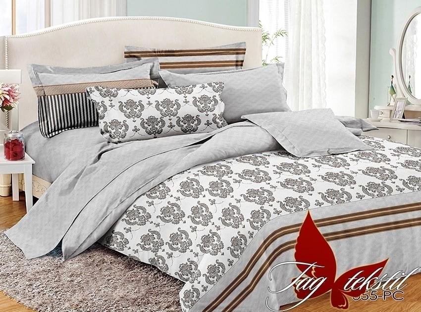 Двуспальный комплект постельного белья, поплин 100% хлопок фото №1