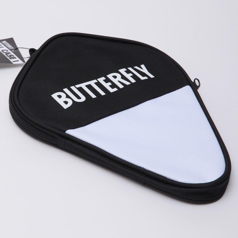 Чехол на ракетку для настольного тенниса butterfly cell case 85112: нейлон, черный фото №1