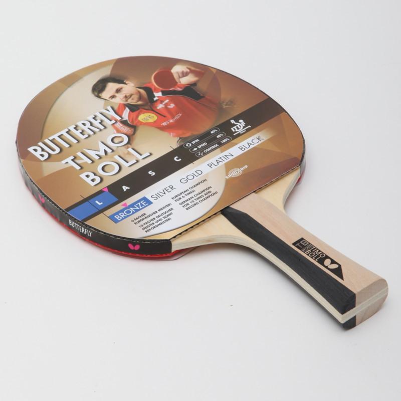 Ракетка для настольного тенниса butterfly timo boll bronze 85011 фото №1