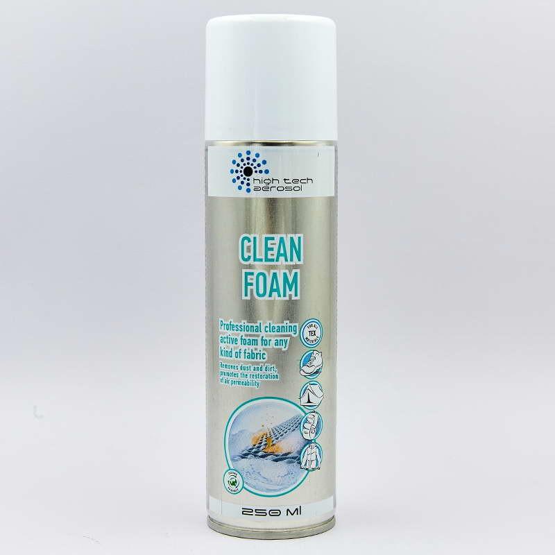 Пена-очиститель профессиональная hta clean foam 0198: объем 250мл фото №1
