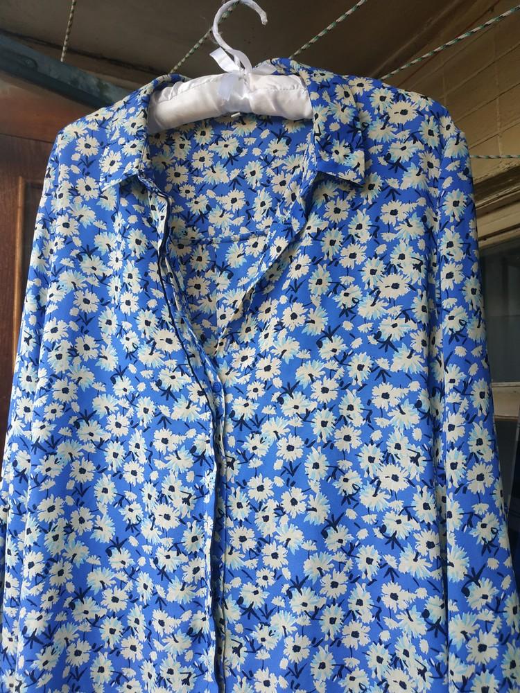 Крутая блуза цветы фото №1