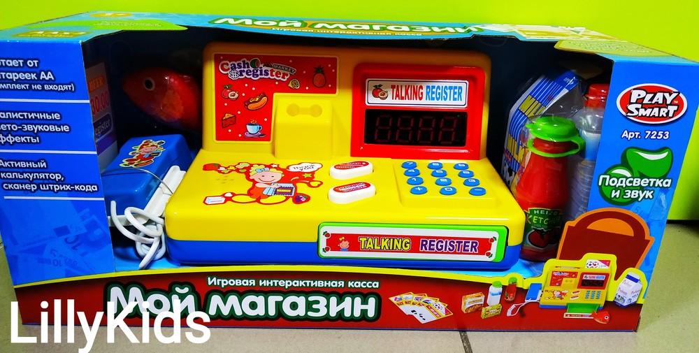 Детский кассовый апарат play smart 7253 мой магазин фото №1