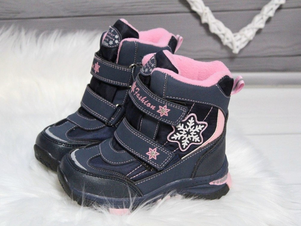 Зимние сапоги tom.m для девочек фото №1