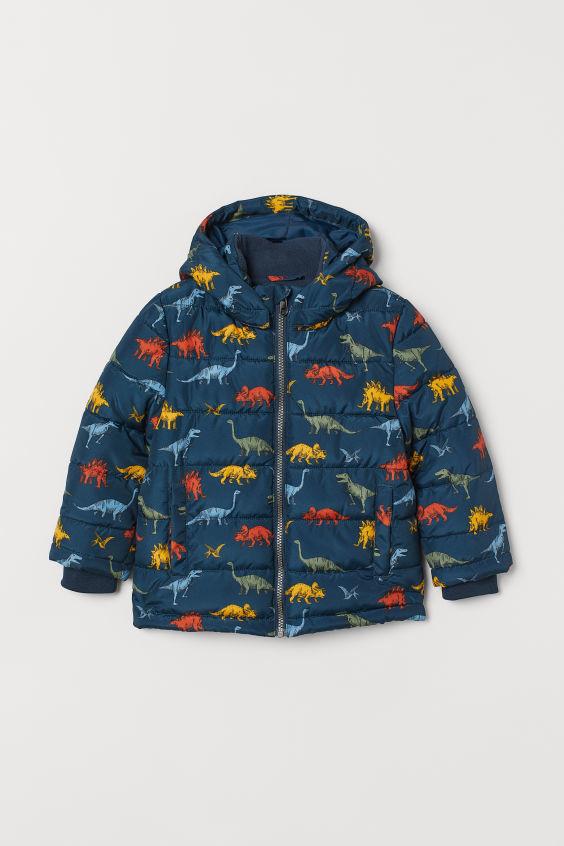 Куртка на мальчика h&m динозавры фото №1