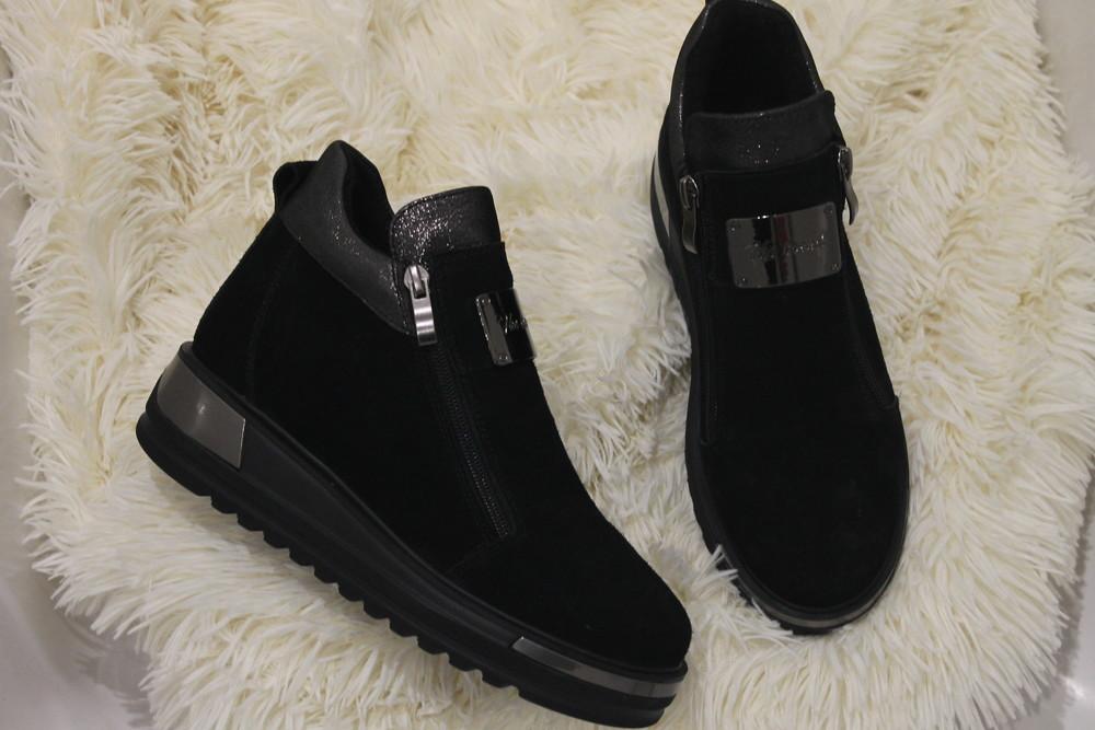 Новая модель, ботинки деми, натуральные материалы, 36-41р фото №1