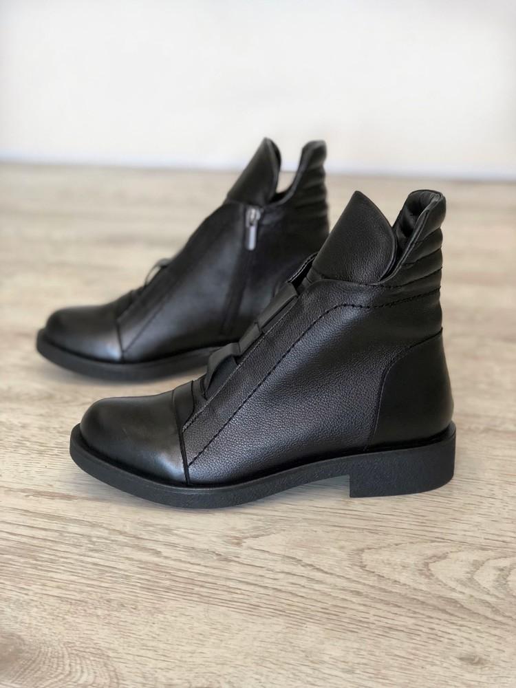Новинка ! ботинки натуральная кожа фото №1