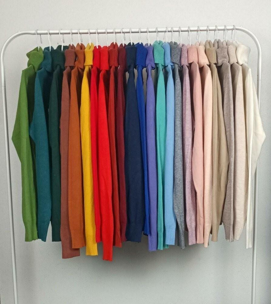 Женский мягкий гольф milano в разных цветах блз 101 фото №1