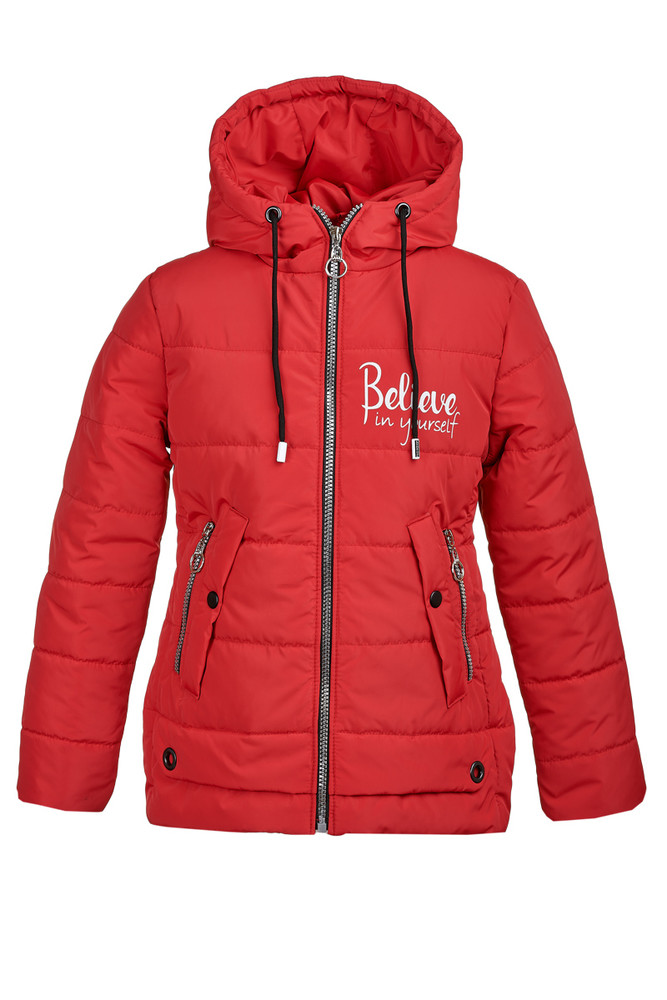 Демисезонная куртка из плащевки на девочку 9-12 лет, 8012 фото №1