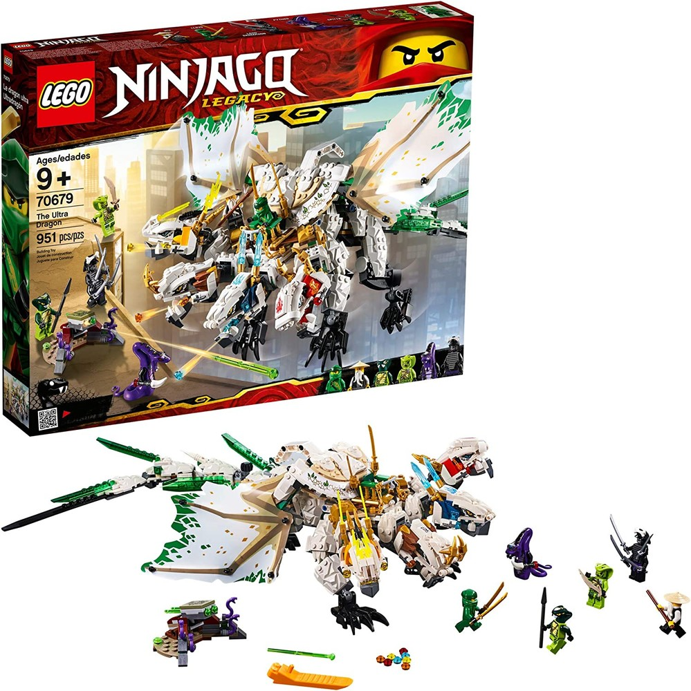 Конструктор лего 70679 ультра дракон 951 дет. lego ninjago legacy the ultra dragon фото №1