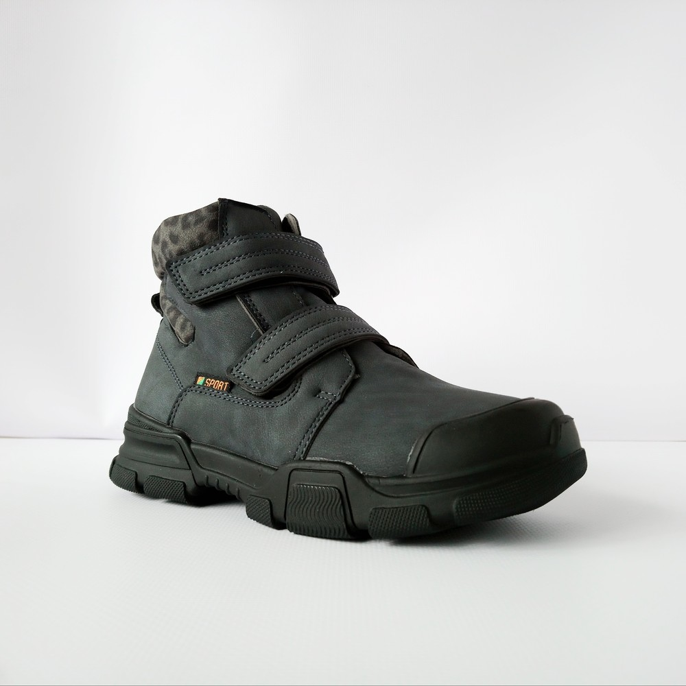 Теплые супер - ботинки для мальчиков, р. 32,34 фото №1