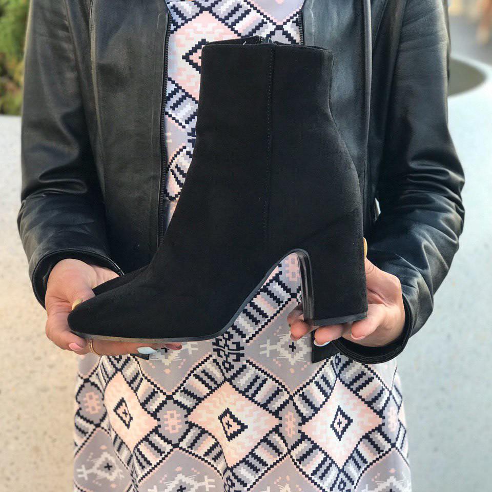 Ботинки демисезонные женские фото №1