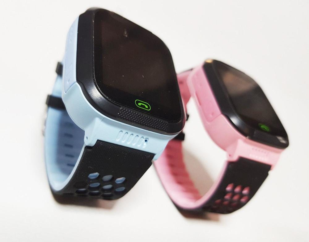 Детские умные часы сенсорные smart f1, смарт часы smart baby watch с gprs, фонарик, камера фото №1