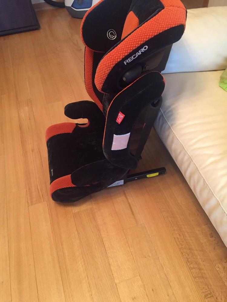 Автомобильное кресло recaro фото №1
