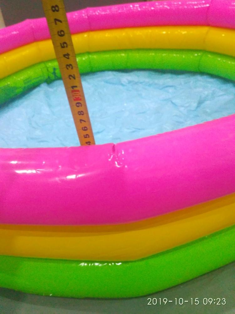 Надувной детский бассейн intex фото №1