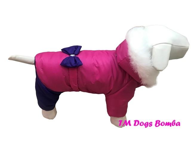 Зимний комбинезон для собак ad-2 фото №1