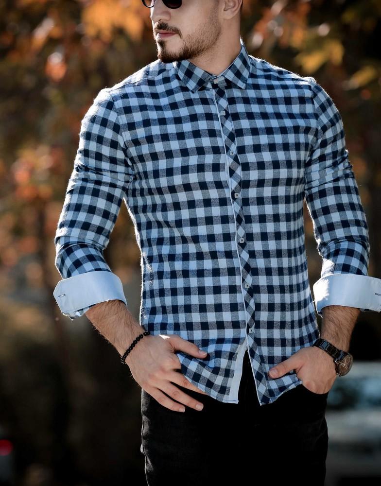 Утеплённые мужские рубашки тм rubaska фото №1
