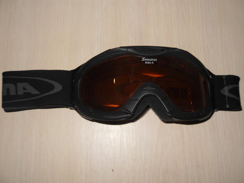 Маска лыжная alpina фото №1