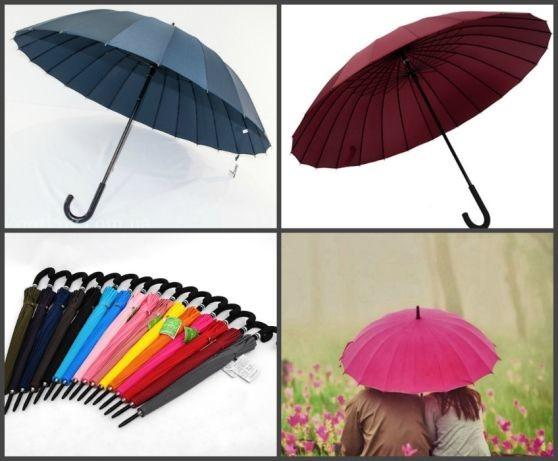 Крепкий женский мужской зонт трость антишторм angel d 116 см фото №1