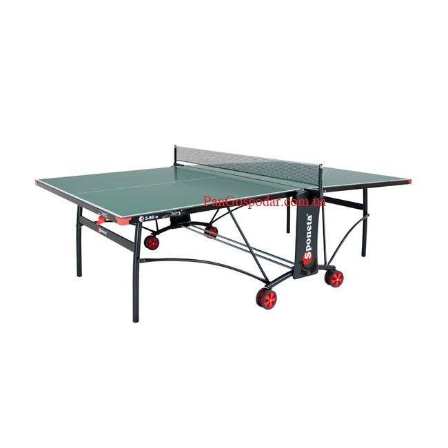 Всепогодный теннисный стол sponeta s3-86е (германия) фото №1