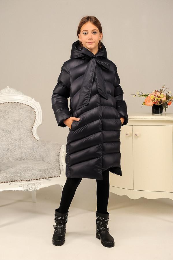 Зимняя куртка пальто для девочки фото №1