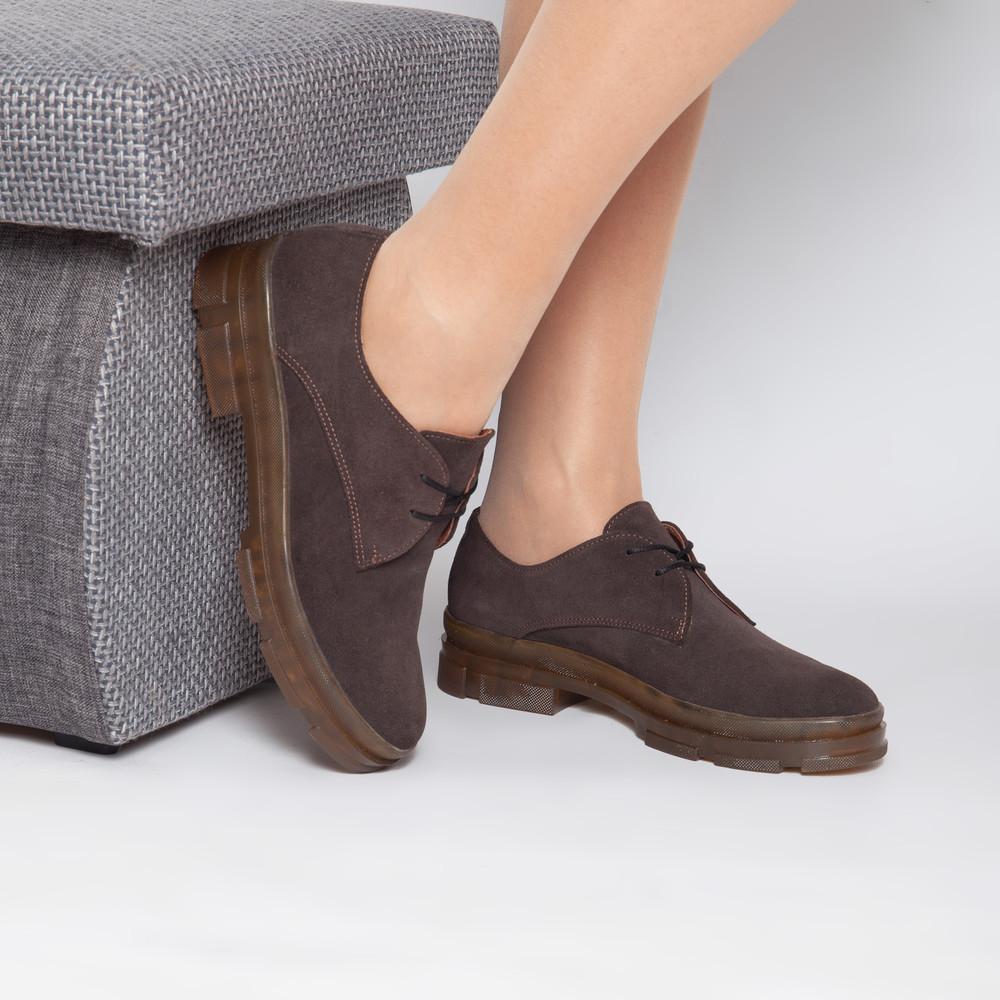 Закрытые замшевые туфли 40 , 41размеры фото №1