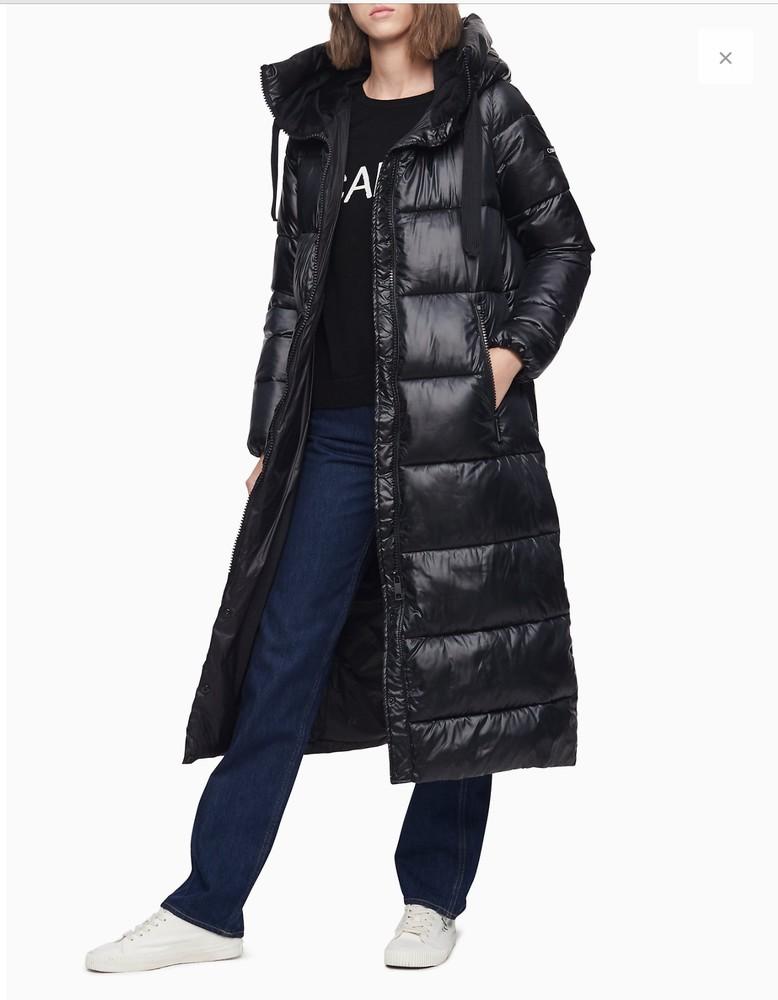 Зимняя куртка пальто пуховик calvin klein оригинал фото №1