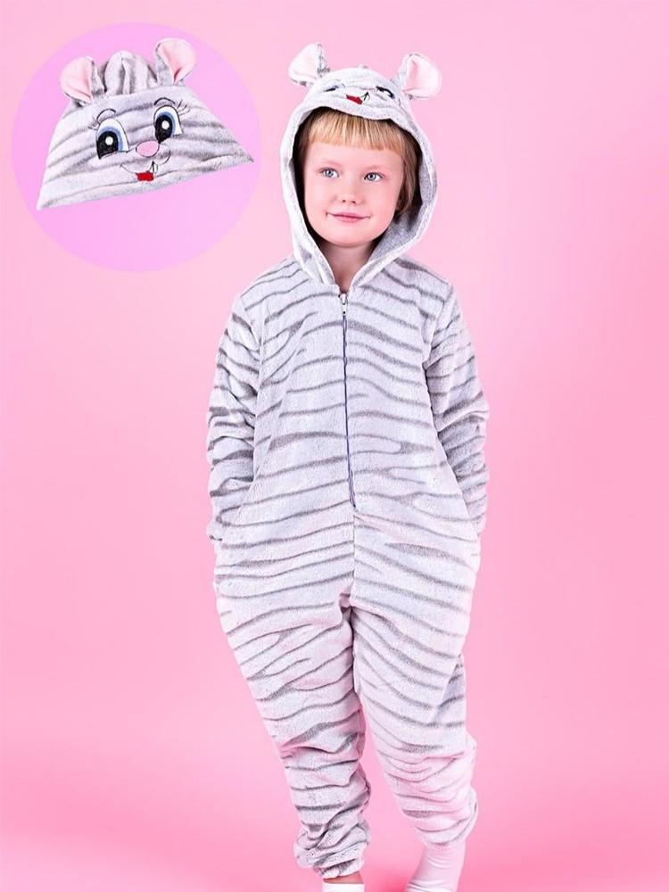 Кигуруми мышка, комбинезон для деток и подростков фото №1