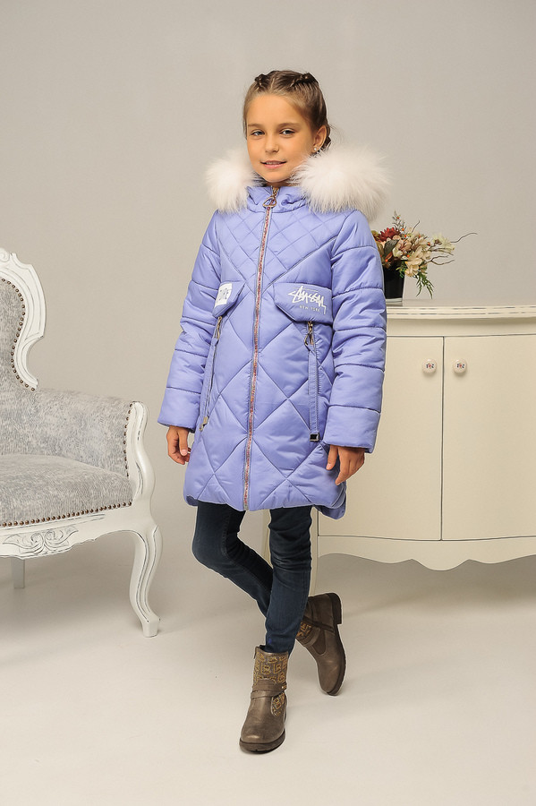 Детская зимняя куртка для девочки фото №1
