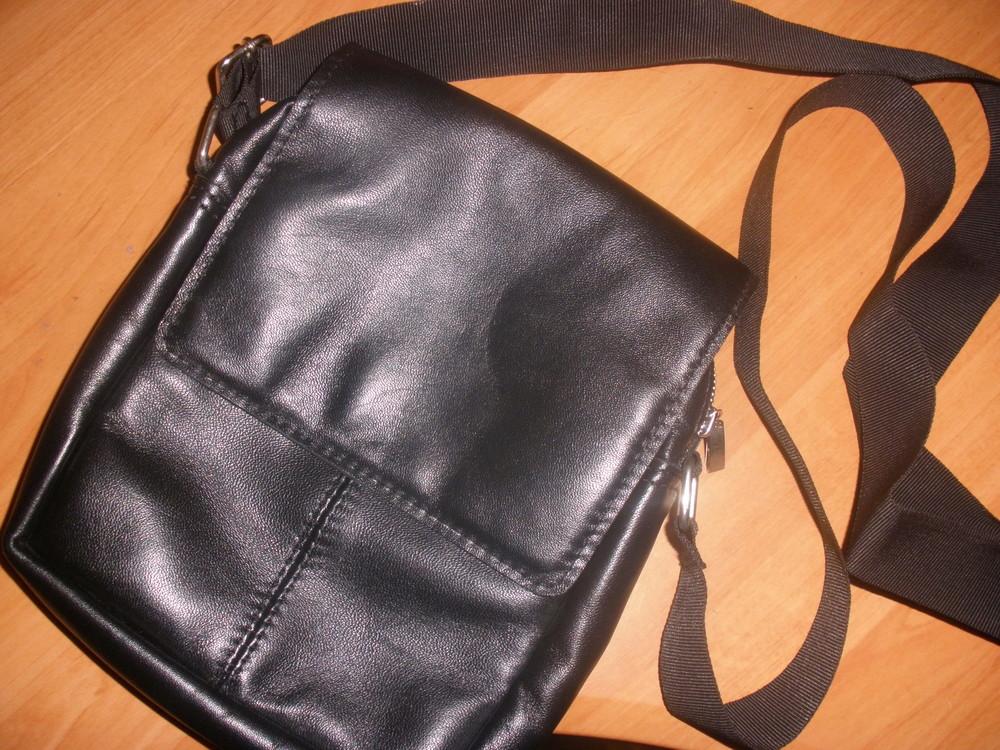 Новая мужская сумка полностью натуральная кожа, отлично на подарок! фото №1