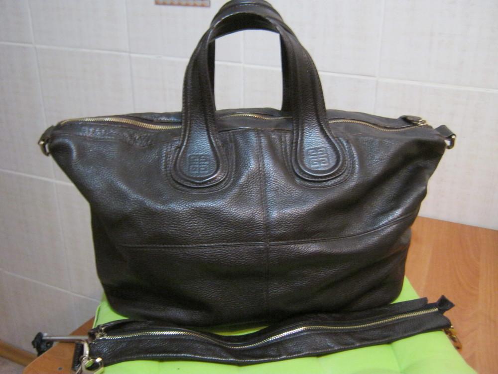 Givenchy.франция. нат. кожа. сумка шоппер!дешево! фото №1