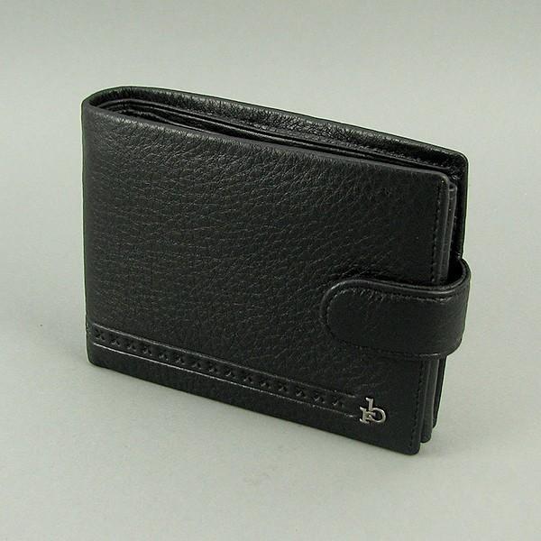 Кошелек мужской кожаный черный документы rocco barocco 47003 фото №1