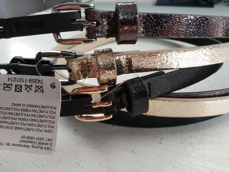 Комплект набор 3 шт ремней ремень c&a германия европа оригинал s, l, xl фото №1